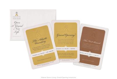 Adante Senior Living: Grand Opening Invitation Series