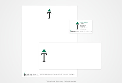 Trinity Bank: Stationery Package Design