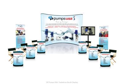 DP Pumps: Trade Show Display