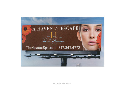 The Havens Spa: A Havenly Escape Billboard
