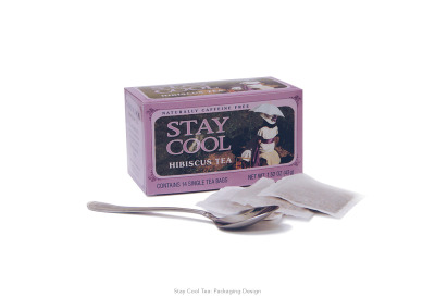 Stay Cool Teas: Tea Box Packaging Design