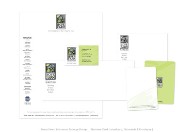 Hope Farm: Stationery Package