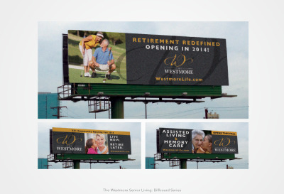 The Westmore Senior Living: Billboard Series