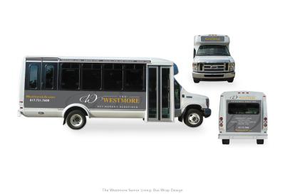 The Westmore Senior Living: Bus Wrap design