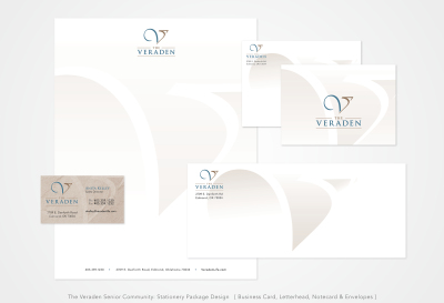 The Veraden Senior Community: Stationery Package