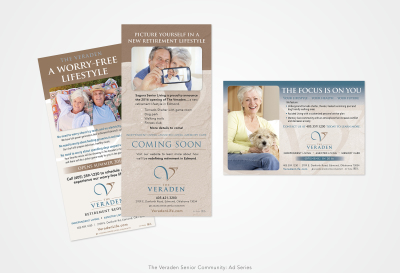 The Veraden Senior Community: Print Ad Series