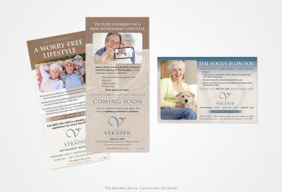 The Veraden Senior Community: Print Ad Series