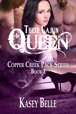 Their Cajun Queen, Copper Creek Pack Book 1 Fiona is certain Fate is a mean kid with a magnifying glass who, for twenty-six years, has given her the proverbial middle finger and it doesn't seem like Fate's going to get bored any time soon.  Something bad always follows her something good.