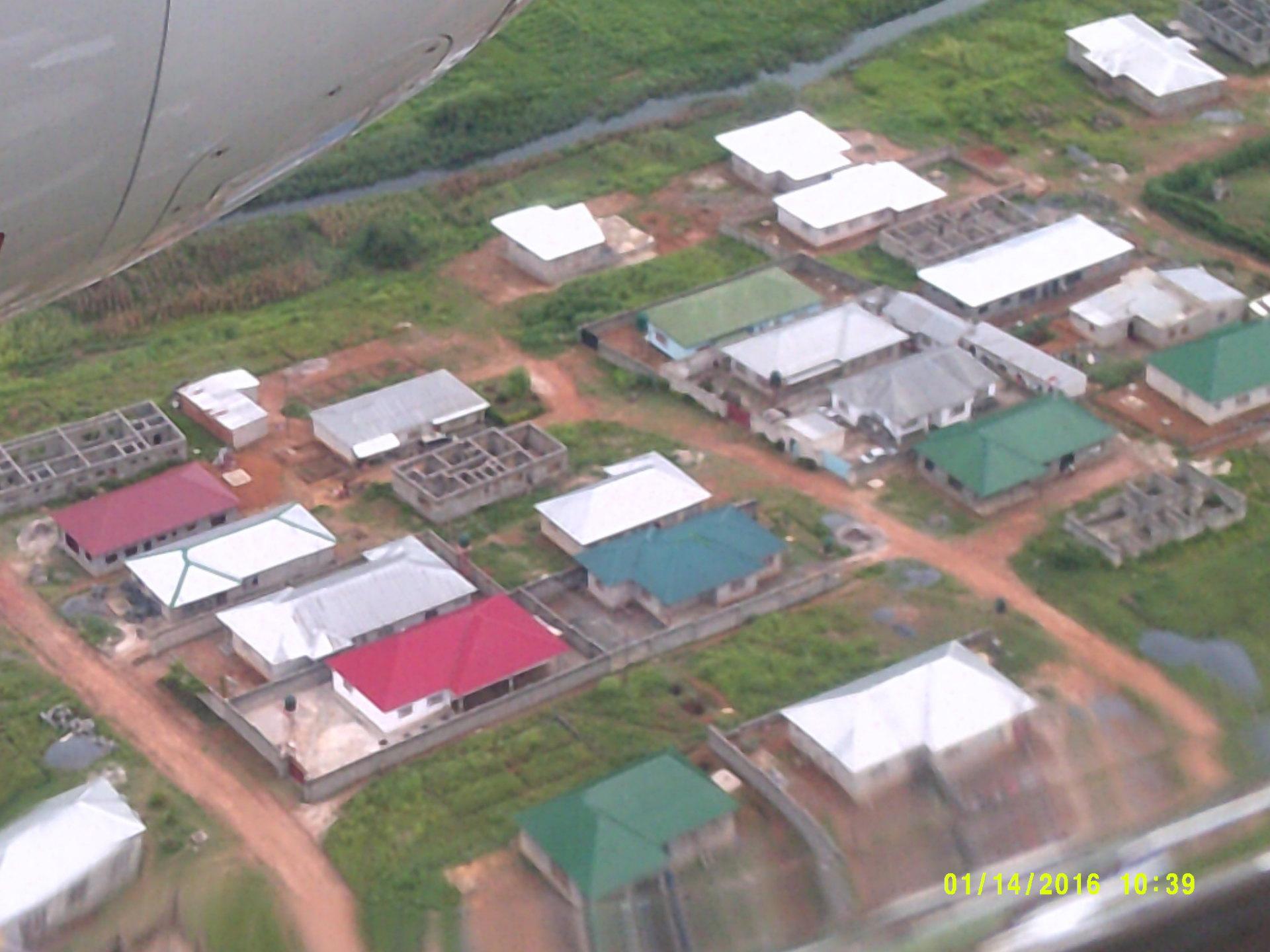 Flying Into Ndola