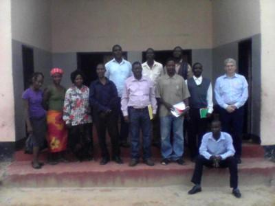 Seminar Attendees and Pastor Matt
