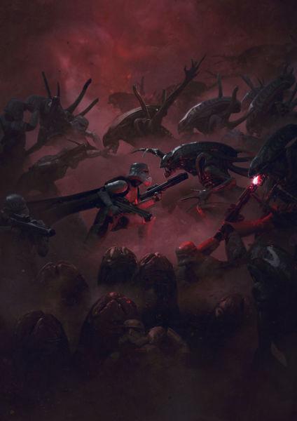 Aliens vs The Empire