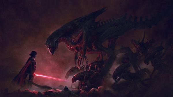 Aliens vs. The Empire