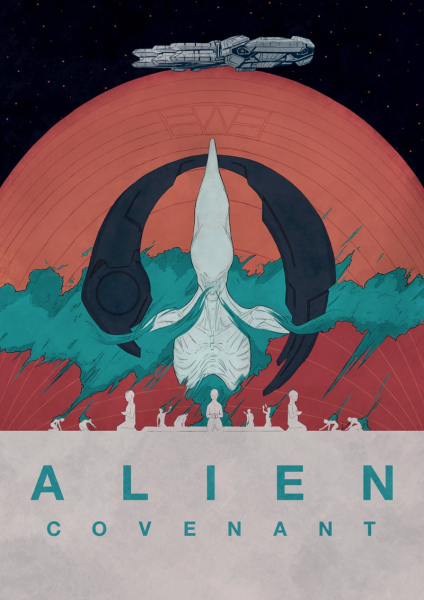 Australian Alien Covenant Poster Competition