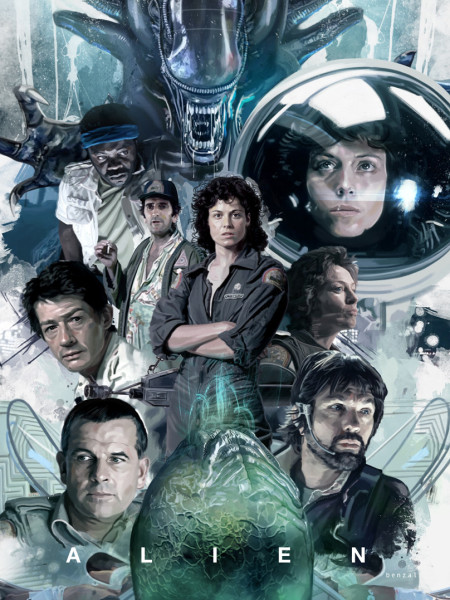 Alien The Eighth Passenger Poster
