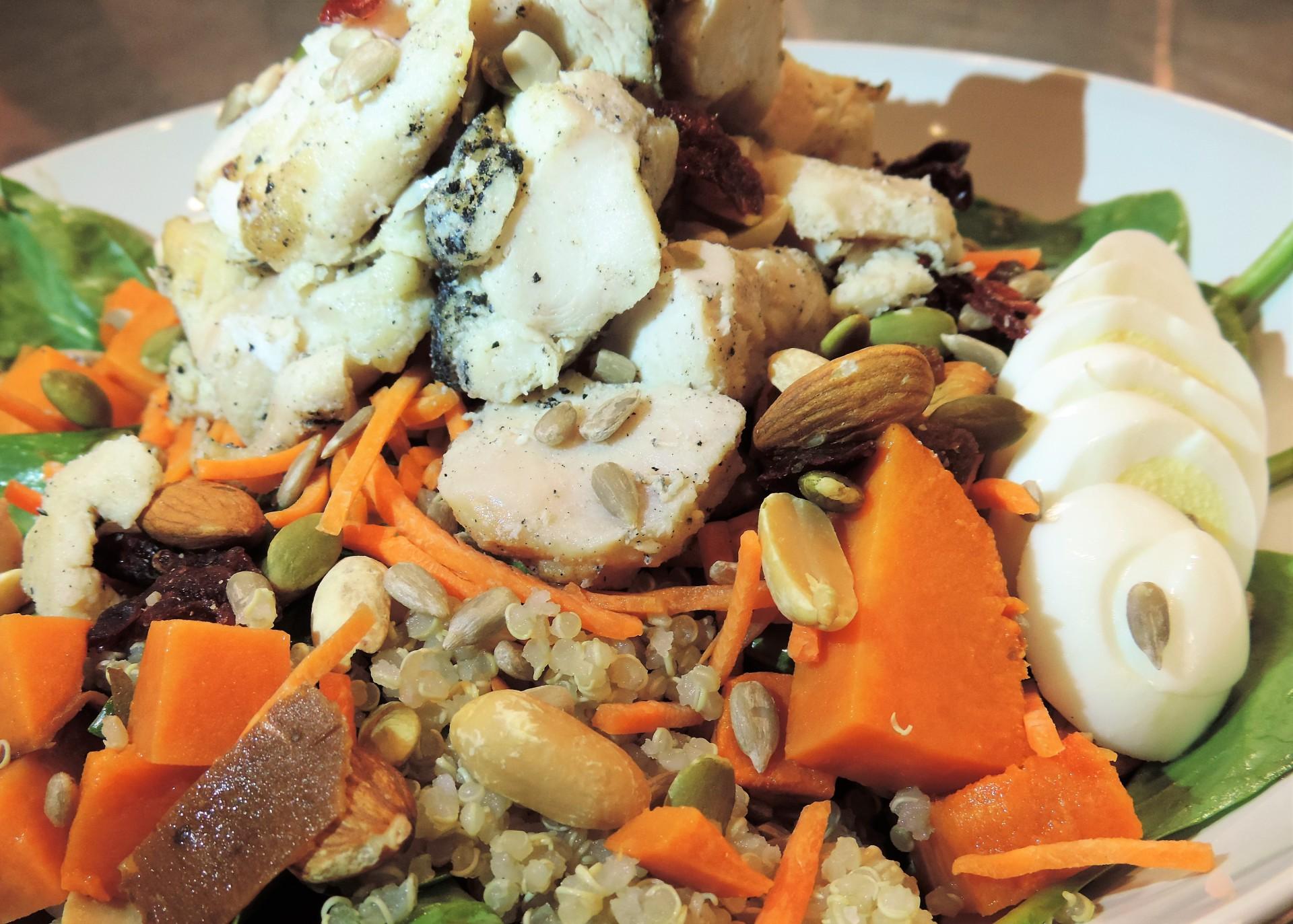 Run Wild Chicken (Salad)