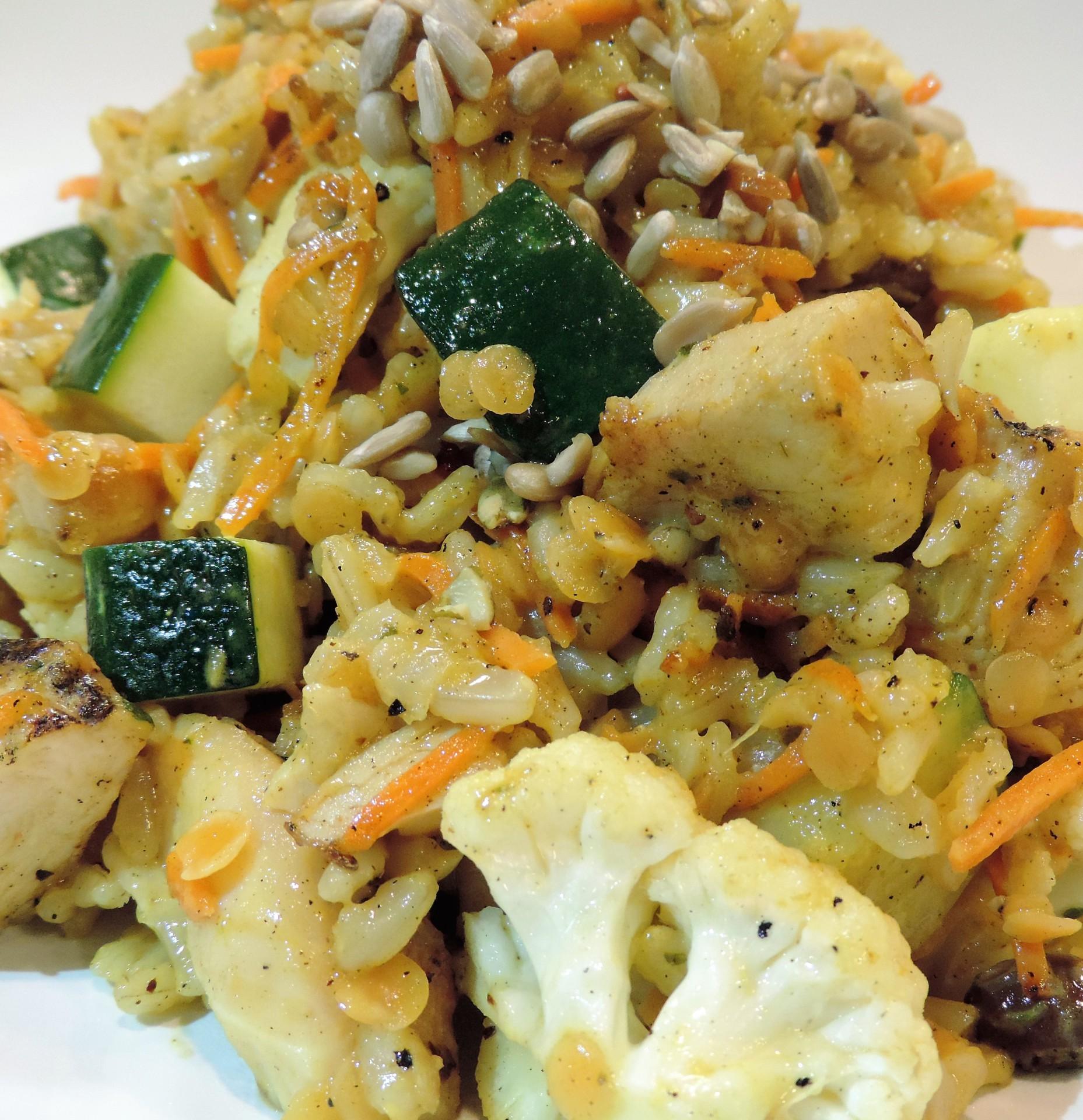 Curry Jerk (Bowl)