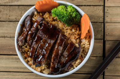 Kid's Beef Teriyaki Bowl
