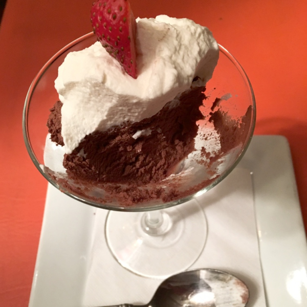 Chocolate Chipotle Mousse
