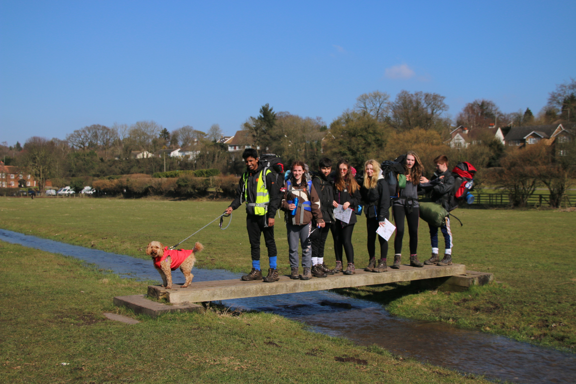 Bronze Expedition Training in the Chilterns
