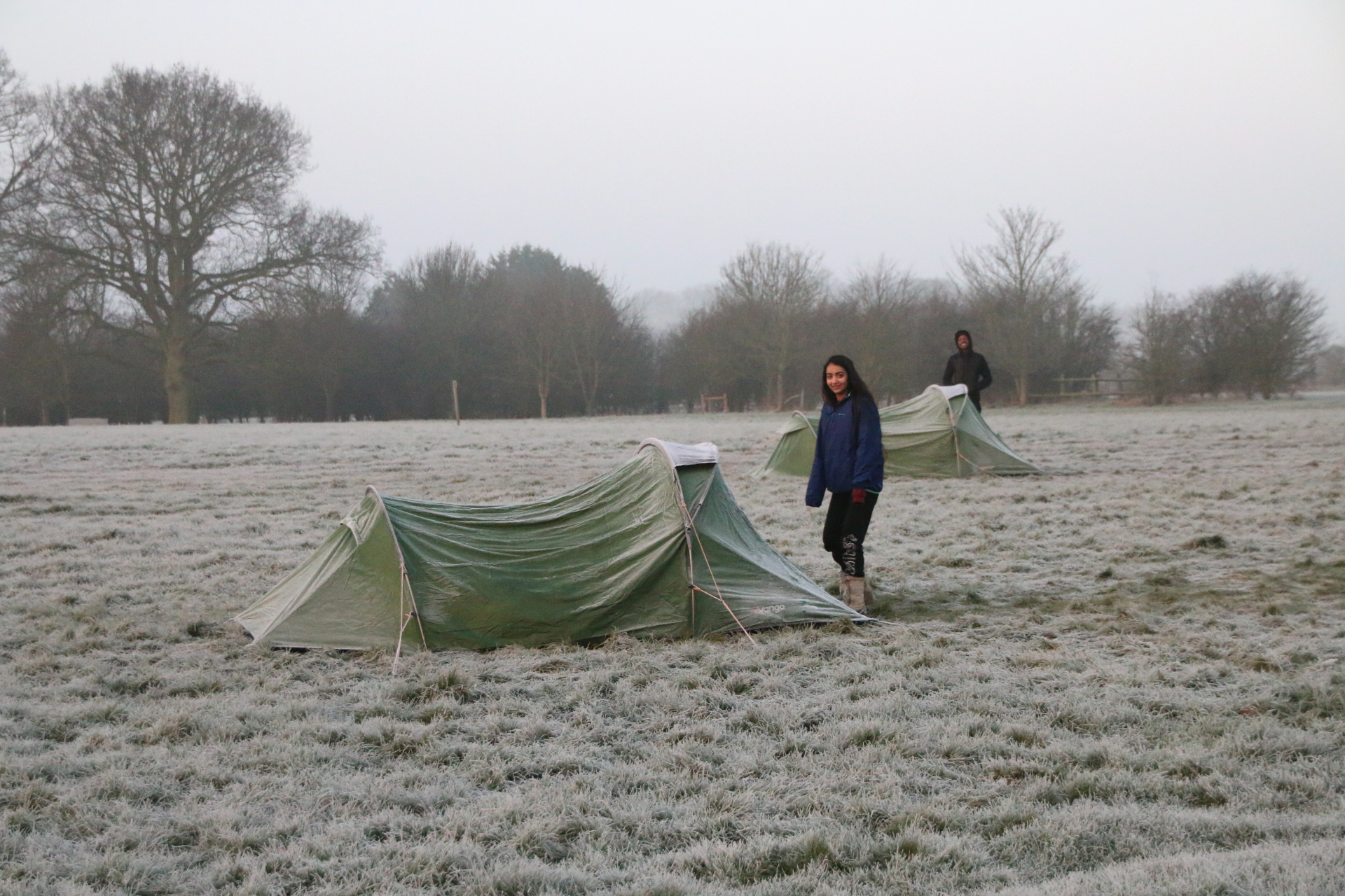 It was very cold overnight in Essex