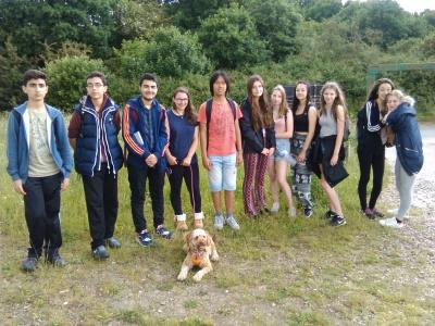 Training with Highgate Wood School