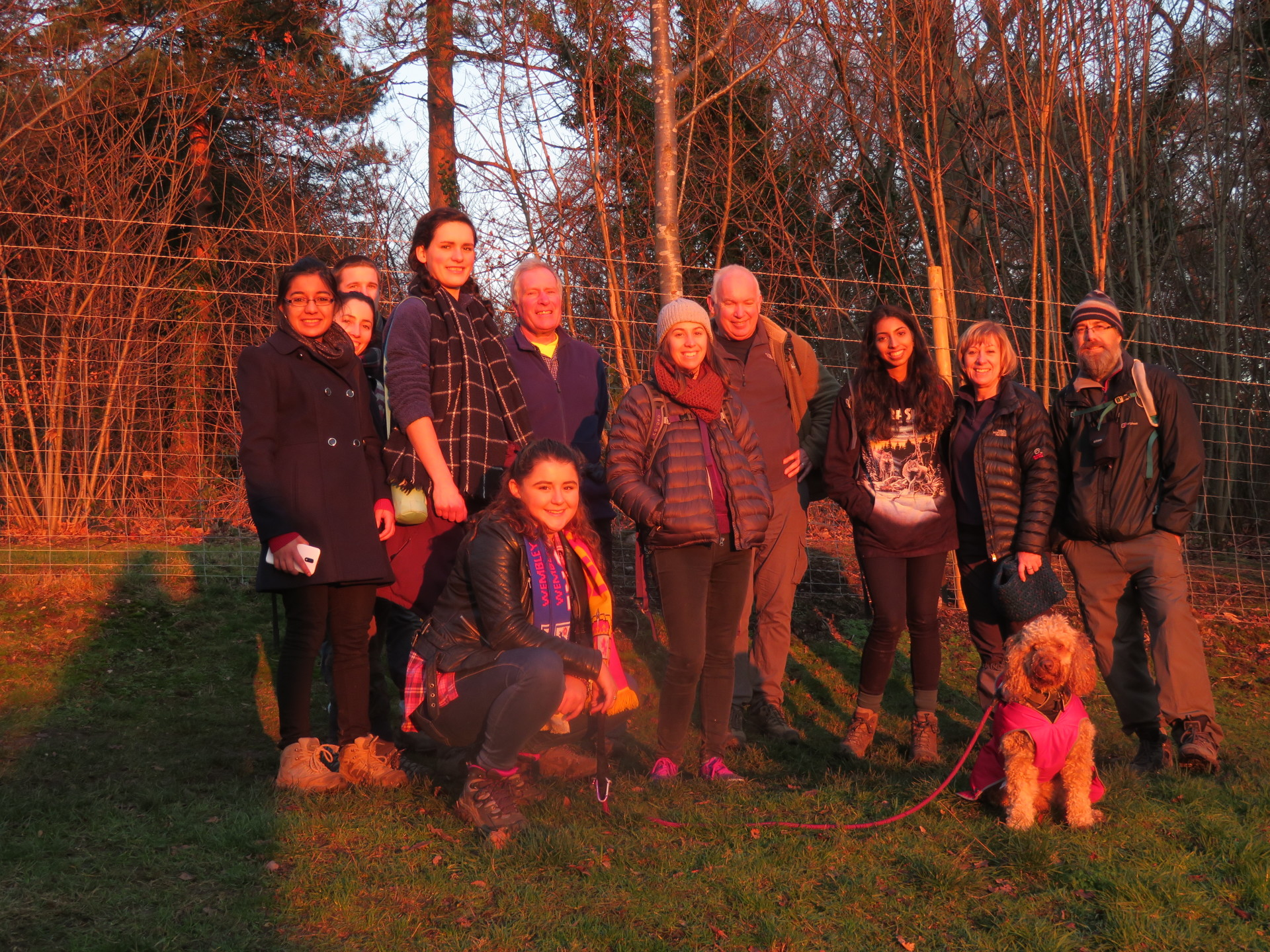 A walk with DofE assessors and award holders
