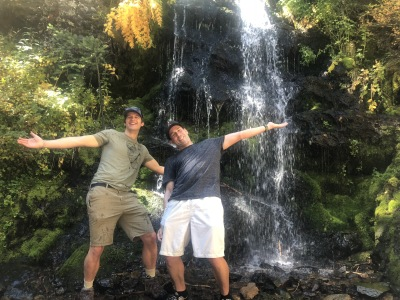 Chasing Waterfalls at the CU Boulder Biochemistry Retreat