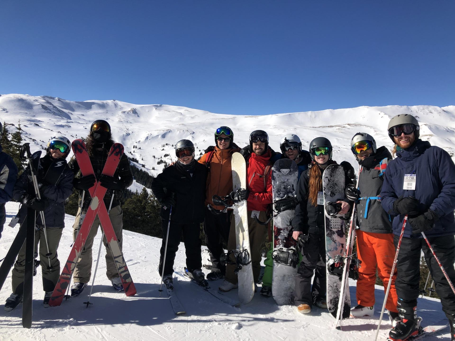 Parker Cech Rinn (PCR) Lab Ski Trip