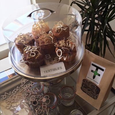 Textibles, non-edible muffins