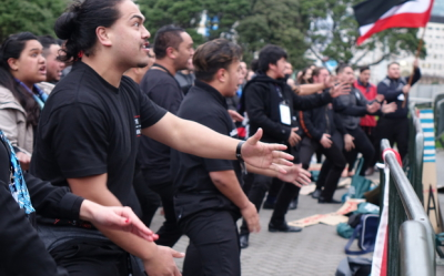 Maori students in NZ march for West Papua