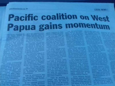 Pacific Coalition on West Papua Gains Momentum