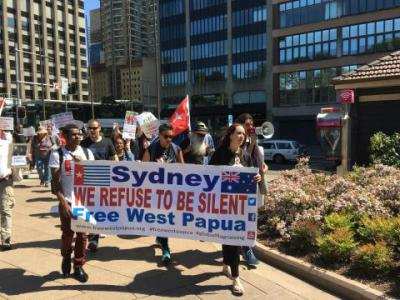 Solidarity rally for West Papua