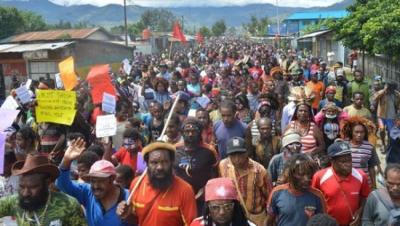 West Papua: More than 500 arrested marching for independence