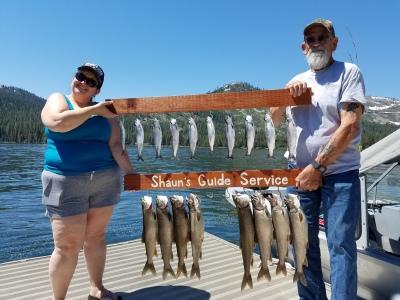 Donner lake fishing report 6-23-17