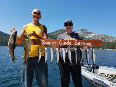 Donner lake fishing report 7-6-17