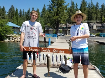 Donner lake fishing report 7-14-17
