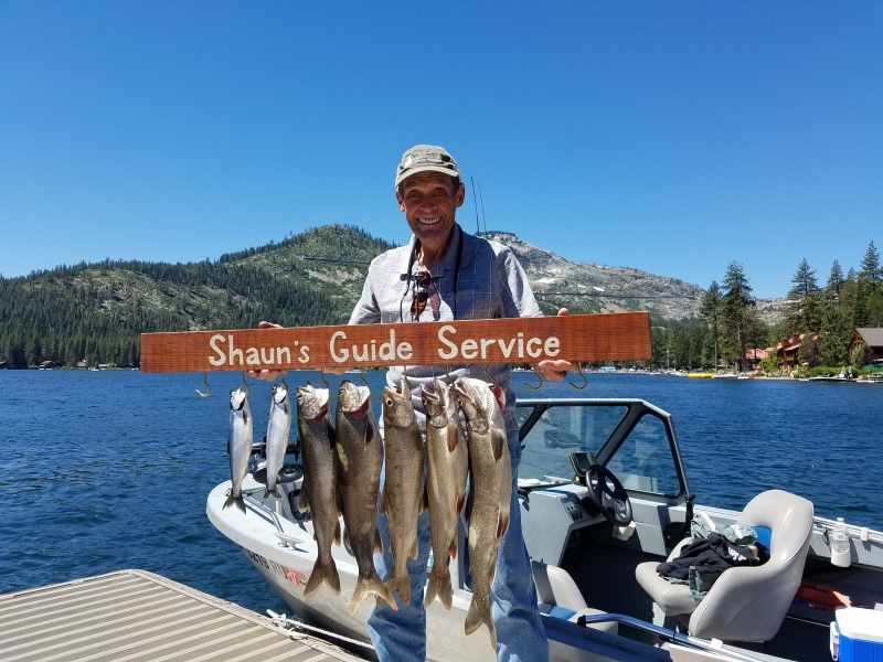 Donner lake fishing report 07-15-17