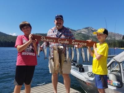 Donner lake fishing report 7-25-17