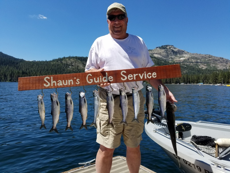 Donner lake fishing report 7-27-17