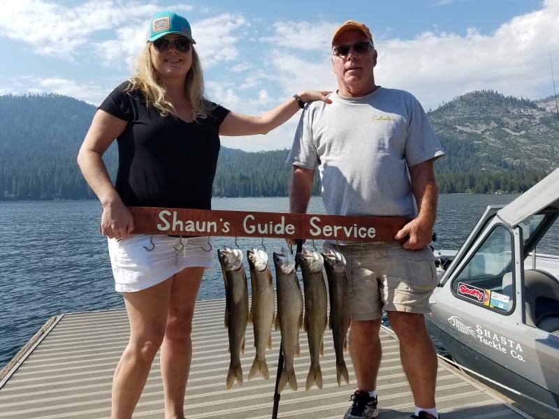 Donner lake fishing report 8-02-17