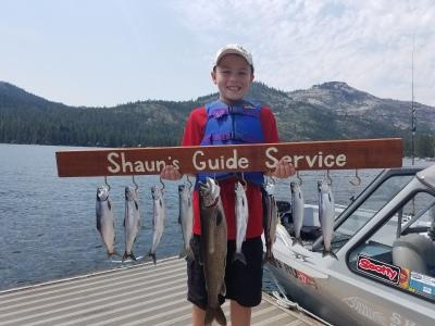 Donner lake fishing report 8-04-17