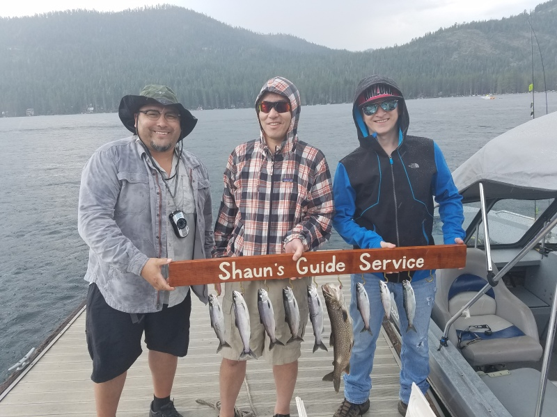 Donner lake fishing report 8-05-17