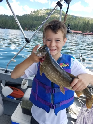Donner lake fishing report 8-8-17