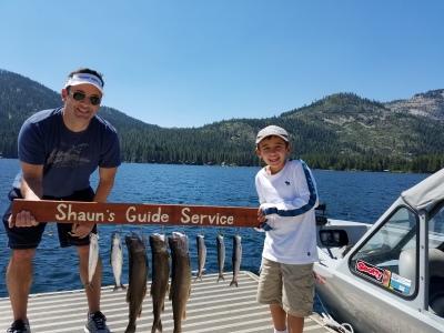 Donner lake fishing report 8-11-17