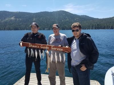 Donner lake fishing report 8-13-17