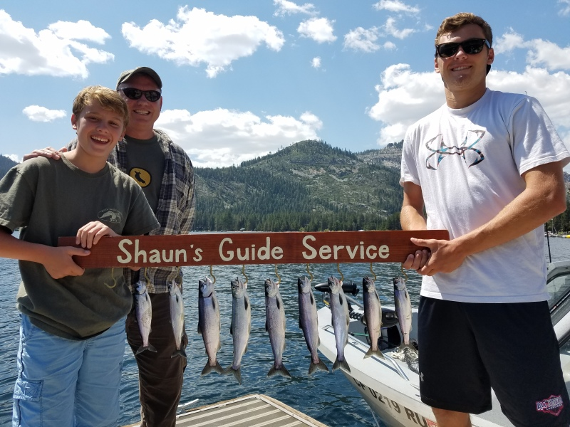 Donner lake fishing report 8-17-17