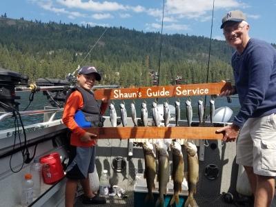 Donner lake fishing report 9-09-17