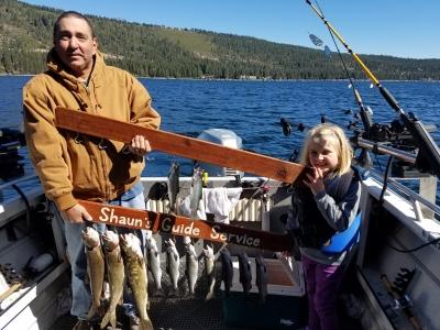 Donner lake fishing report 9-24-17 morning