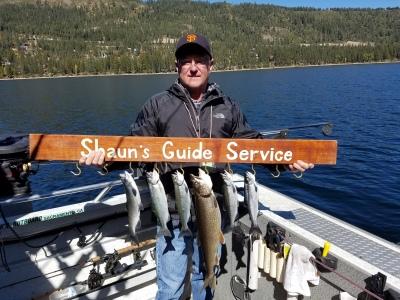 Donner Lake fishing report 10-2-17
