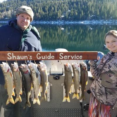 Donner lake fishing report 12-12-17